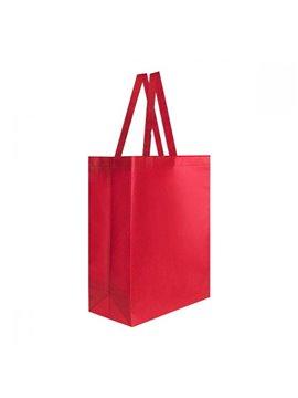 Bolsa Bolso Mochila Laredo con Fuelle - Rojo
