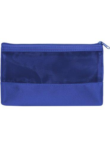 Cartuchera Cosmetiquera Necessaire Orquidea - Royal Blue