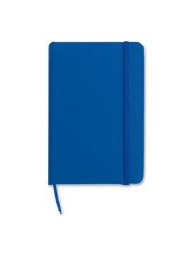 Mini Libreta Cuaderno Crown en Poliuretano - Azul