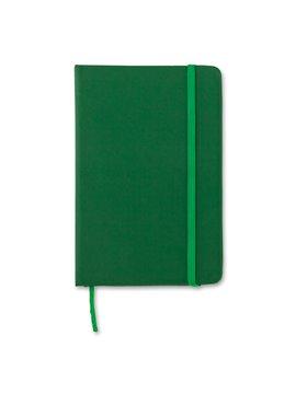 Mini Libreta Cuaderno Crown en Poliuretano - Verde