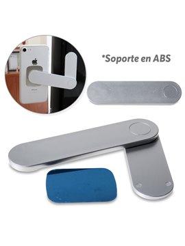 Soporte Magnetico Para Moviles Abs - Silver