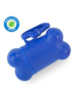 Dispensador de Bolsas Bone Material Antibacteriano - Azul