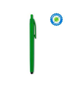 Esfero Boligrafo Vinnie Stylus Antibacteriano en Plastico - Verde