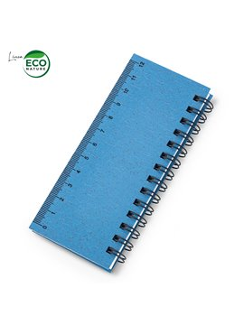 Notas Sticky Set en Trigo Wheat Eco Argollado - Azul