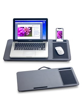Bandeja Portatil para Laptop Elaborado en Madera - Gris