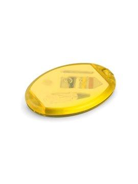Minicosturero Oval con espejo hilos aguja gancho - Amarillo